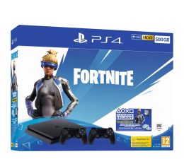 Sony Playstation 4 500GB + Fortnite DLC + DS 4 V2 (711719939108)