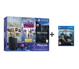 Sony PlayStation 4 500GB SLIM + 3x Gra PlayLink + GOW (711719988762)