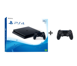 Sony PlayStation 4 500GB SLIM + Kontroler DualShock 4 (711719927204)