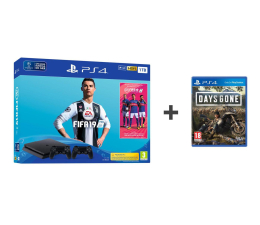 Sony Playstation 4 Slim 1TB + FIFA 19 + Pad + Days Gone (711719742814)
