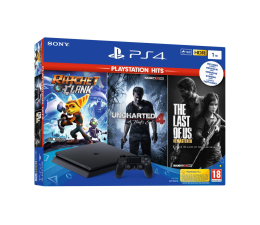 Sony Playstation 4 Slim 1TB + Zestaw PS Hits (9731917)