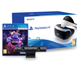Sony PlayStation VR + Camera + VR Worlds  (711719952060)