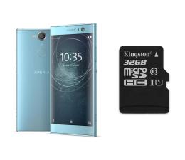 Sony Xperia XA2 H4113 3/32GB Dual SIM niebieski + 32GB (1312-6696+SDCS/32GB)