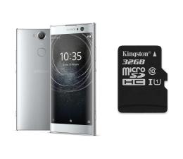 Sony Xperia XA2 H4113 Dual SIM srebrny + 32GB (1312-6695+SDCS/32GB)