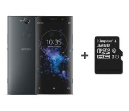 Sony Xperia XA2 Plus H4413 4/32GB DS czarny + 32GB (1315-9869 + SDCS/32GB)