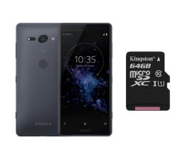 Sony Xperia XZ2 Compact H8324 DS Księżycowa czerń +64GB (1313-8190+SDCS/64GB)
