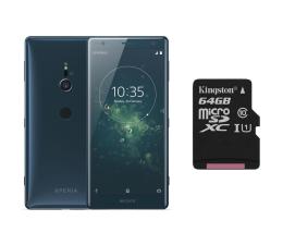 Sony Xperia XZ2 H8266 Dual SIM Głęboka zieleń + 64GB (1313-8198+SDCS/64GB)