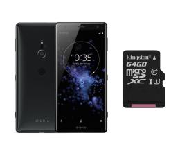 Sony Xperia XZ2 H8266 Dual SIM Płynna czerń + 64GB (1313-8195+SDCS/64GB)