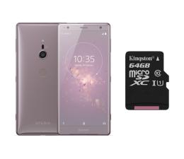 Sony Xperia XZ2 H8266 Dual SIM Pudrowy róż + 64GB (1313-8199+SDCS/64GB)