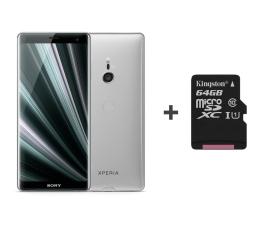Sony Xperia XZ3 H9436 4/64GB DS Białe srebro + 64GB (1316-5628 + SDCS/64GB)