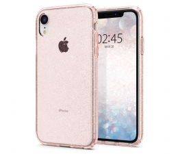Spigen Liquid Crystal do iPhone XR Glitter Rose Quartz (064CS24868 / 8809613763898)
