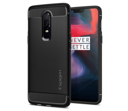 Spigen Rugged Armor do OnePlus 6 Black  (K06CS23358)