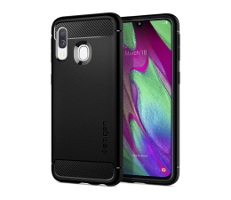 Spigen Rugged Armor do Samsung Galaxy A40 Black (618CS26244 / 8809640256356)