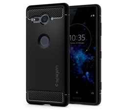 Spigen Rugged Armor do Sony XPERIA XZ2 Compact Black (G12CS23351 / 8809565309786)