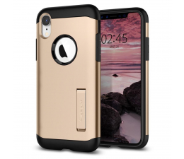 Spigen Slim Armor do iPhone XR Champagne Gold (064CS25144 / 8809613766387)