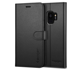 Spigen Wallet S do Galaxy S9 Black (592CS22870 / 8809565305535)