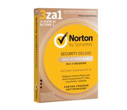 Symantec Norton Security Deluxe (12m.) Edycja Specjalna 3st (21384414)