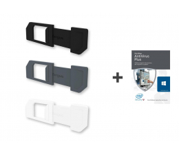 Targus Spy Guard Webcam Cover(3szt.)+McAfee Plus PL(12m.) (AWH012GL + 731944687773)