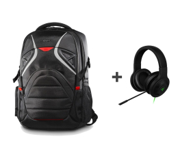 Targus Strike Gaming Backpack + Kraken Essential (TSB900EU + RZ04-01720100-R3R1)