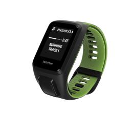 TomTom Runner 3 Cardio + Music S czarno-zielony + 200zł (1RKM.001.01)
