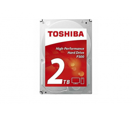 Toshiba P300 2TB 7200obr. 64MB  (HDWD120EZSTA)