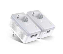 TP-Link TL-PA4022P KIT PowerLine 600Mb/s (2 szt, gniazdo) (TL-PA4022PKIT)