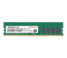 Transcend 4GB 2666MHz U-DIMM (JetRam) CL19 (JM2666HLH-4G)