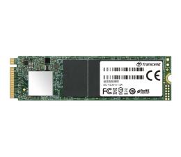 Transcend 512GB M.2 PCIe Gen3 x4 NVMe 2280 (TS512GMTE110S)
