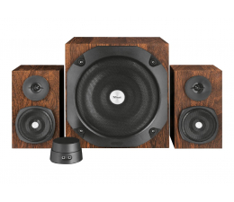 Trust 2.1 Vigor Subwoofer Speaker Set Brown (20244)