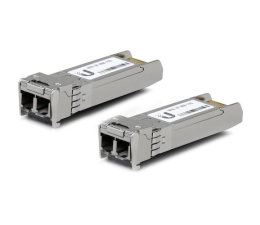 Ubiquiti UF-MM-10G Multi-Mode 10Gbit SFP+ 2xLC (2 szt.) (UF-MM-10G wielomodowy)