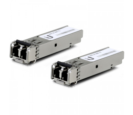 Ubiquiti UF-MM-1G Multi-Mode 1.25Gbit SFP 2xLC (2 szt.) (UF-MM-1G wielomodowy)