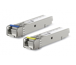 Ubiquiti UF-SM-1G-S Single-Mode 1.25Gb/s SFP 1xLC (2 szt.) (UF-SM-1G-S jednomodowy)