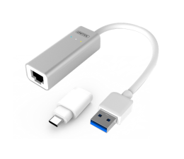 Unitek Adapter USB / USB-C do Gigabit Ethernet (Y-3464)