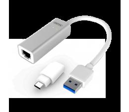 Unitek Adapter USB, USB-C - RJ-45 (Gigabit) (Y-3464)