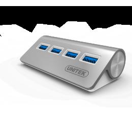 Unitek Aluminiowy Hub 4x USB 3.0 (Y-3186)