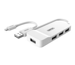 Unitek HUB 4x USB 2.0 - OTG microUSB (Y-2133)