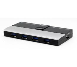 Unitek HUB 4x USB 3.0 + ładowarka iPad (Y-3178)