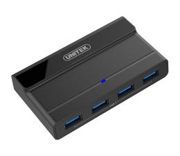 Unitek HUB USB 4 x USB 3.1 z zasilaczem (Y-HB08003)