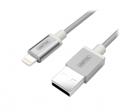 Unitek Kabel do iPhone, iPad 1m, MFI (Y-C499ASL)