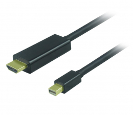 Unitek Kabel mini DisplayPort - HDMI  1.8m (Y-6357)