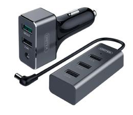 Unitek Ładowarka Samochodowa 5 x USB Dwustrefowa QC 3.0 (Y-P530A+)