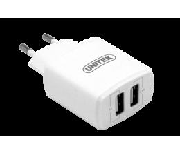 Unitek Ładowarka sieciowa 2 x USB 3.4A  (Y-P547A)
