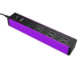 Unitek Listwa ładująca 6x USB 2,4A 36W (Y-2152B)