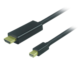 Unitek mini DisplayPort - HDMI  1.8m (Y-6357)