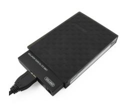 """Unitek Mostek USB 3.0 + obudowa do dysku 2,5"""" (czarny) (Y-1039B)"""