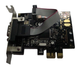 Unitek PCI Express Kontroler 1x RS-232 Low Profile (Y-7502)