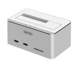 """Unitek Stacja dokująca 2.5""""/3.5"""" USB-C (HDD/SSD USB SD) (Y-1092)"""