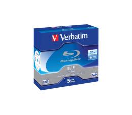 Verbatim 25GB 6x BluRay Box 5szt LTH HARD COAT (43753)