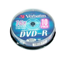 Verbatim 4.7GB 16x CAKE 10szt. (43523)
