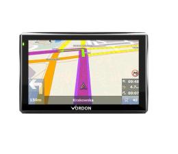"""Vordon Vordon 5"""" Mapy Europy + 4GB + FM + AV IN (5901801520115)"""